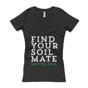 Find Your Soil Mate Women's V-Neck