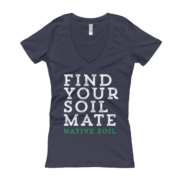 Find Your Soil Mate Women's V-Neck