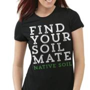 Find Your Soil Mate - Ladies Scoop Neck