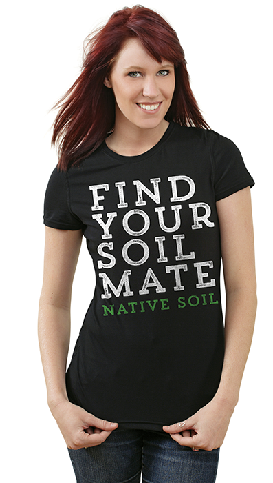 Find Your Soil Mate - Ladies Scoop Neck