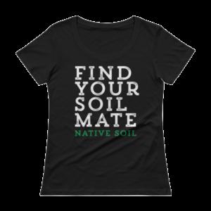 Find Your Soil Mate Ladies' Scoopneck