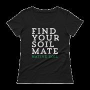 Find Your Soil Mate Ladies' Scoopneck T-Shirt