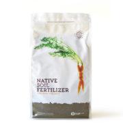 Native Soil Fertilizer, locally sourced, locally made, locally sold.