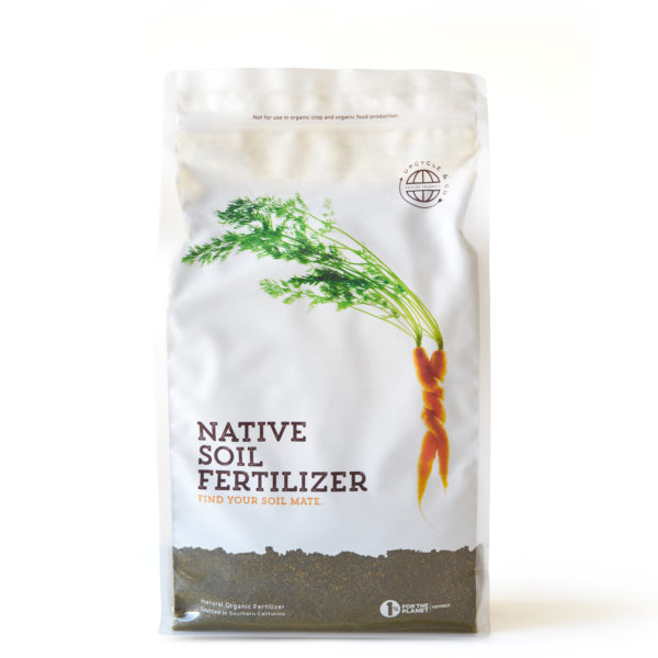Native Soil Fertilizer, locally sourced, locally made, locally sold.