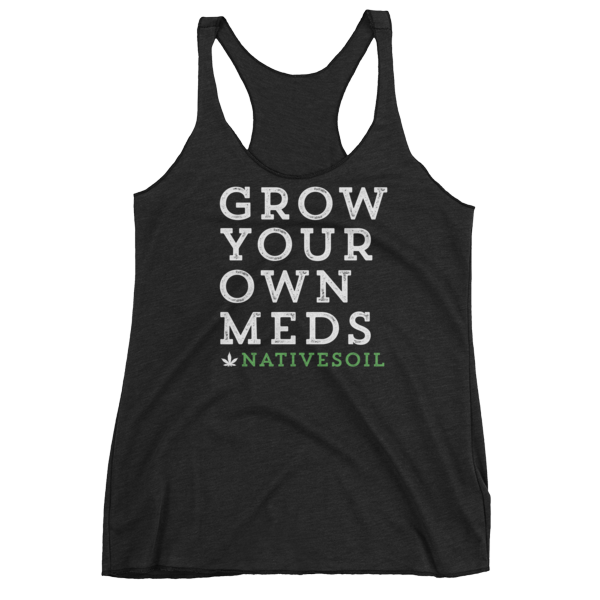 Women's Racerback Tank – Grow Your Own