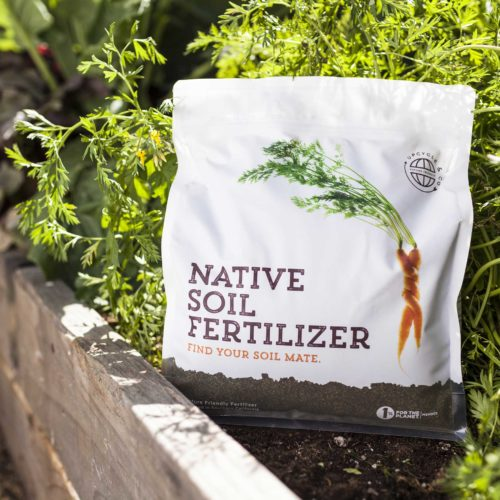 Native Soil Fertilizer 4 Lb Bag